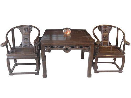 仿古老榆木圈椅价格