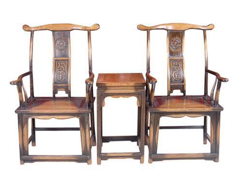 香河中式老榆木座椅价格