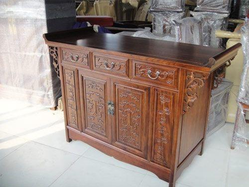 明清中式老榆木备餐柜批发定做