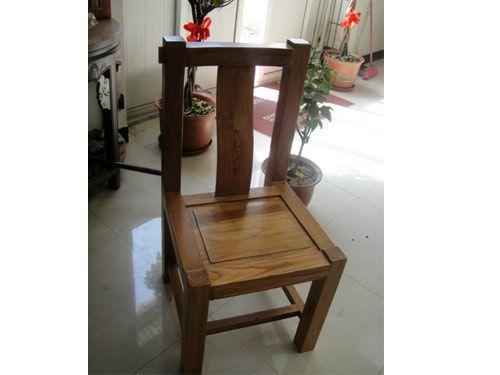 北京大料原木色餐椅定制