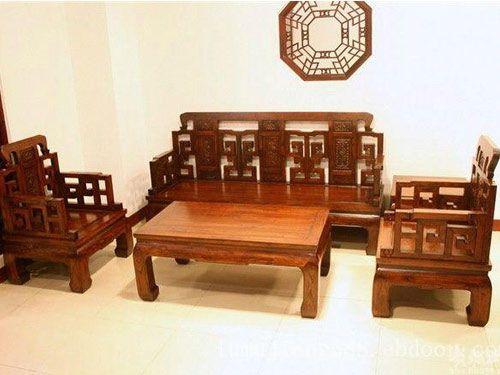 北京中式古典榆木沙发定做工厂