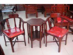 北京香河老榆木三角椅