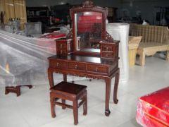 明清中式仿古榆木梳妆台厂家