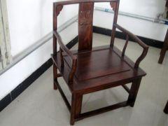 河北香河中式榆木带扶手餐椅厂家
